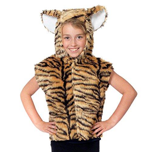 Charlie Crow Déguisement Tigre pour Les Enfants. Taille Unique 3-9 Ans.
