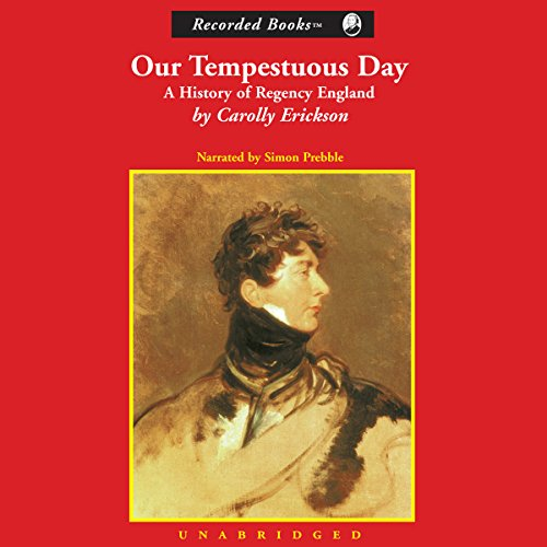 Our Tempestuous Day audiobook cover art