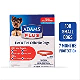 Adams Plus Flea & Tick Collar for Dogs, Small