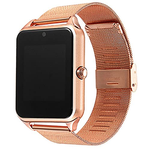 zyz Z60 Smart Watch Men's Y Bluetooth Bluetooth, HD, Recordatorio Inteligente, Modelo Multi-Sport Watch,Oro
