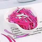 DACCU - 100 lentejuelas de tamaño 5 x 32 mm, color marfil Chile, para coser, artesanía, para disfraz, escenario, ropa, accesorios
