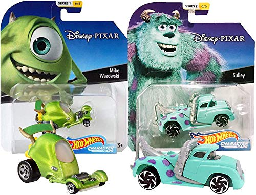 Hot Wheels Disney/Pixar Character Cars Monsters Inc Mike & Sulley