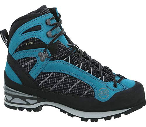 Hanwag Makra Combi Gore-TEX Femmes Chaussure d'alpinisme EU 37,5 - UK 4,5 Bleu EU 37,5 - UK 4,5