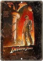 インディアナジョーンズと破滅の神殿ポスター複製メタル