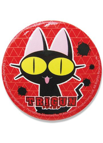 Trigun Neko bouton