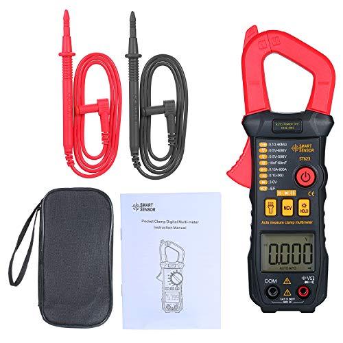 Kedelak Digitales Zangenmessgerät Hochpräzises Multimeter mit automatischem Bereich AC-Zangenamperemeter Zangenmessgerät ST823