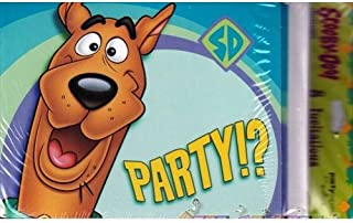 Scooby Doo Party Invitations 8 Pack