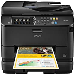 Epson WorkForce Pro WF-4640 Wireless Color All-in-One Inkjet Printer