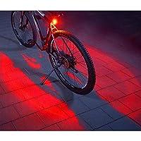 RÜCKLICHT: 5 High-Power-LEDs nach hinten mit 360° Bodenbeleuchtung für eine höhere Sichtbarkeit AKKU: Aufladbarer Li-Ionen- Akku (700mAh) per Micro-USB Ladebuchse aufladbar LEUCHTDAUER: Bis zu ca. 4 Stunden LADEN: Das Ladekabel ist im Lieferumfang en...