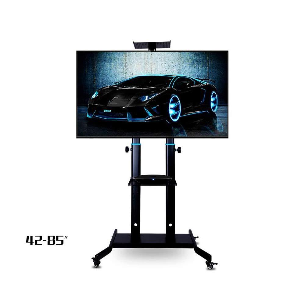 Xiaolin TV Móvil Soporte Carro de la Compra - antivuelco y Estable - for 42-85 Pulgadas HDR LED y Pantallas de televisión LCD - Castor Ruedas (Color : 02): Amazon.es: Hogar