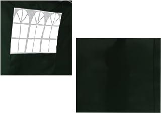 Angel Living 2 Lados Extraíbles Para Pabellón Plegable De 3x3m (verde)