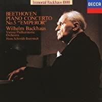 Beethoven: Piano Concerto 5 by Wilhelm Bachhaus