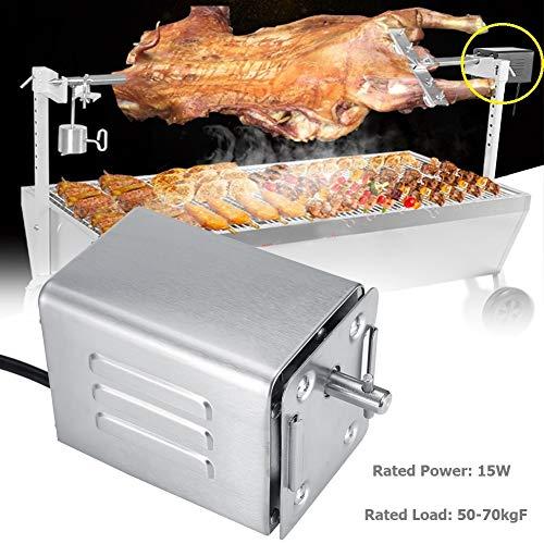 Acogedor Motore per Barbecue, Motore girarrosto per Barbecue in Acciaio Inox, Motore per Barbecue Elettrico, 50-70KGF(A)