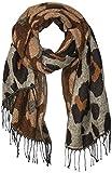 Amazon Essentials Women's Blanket Scarf, Natural Animal Print, One Size