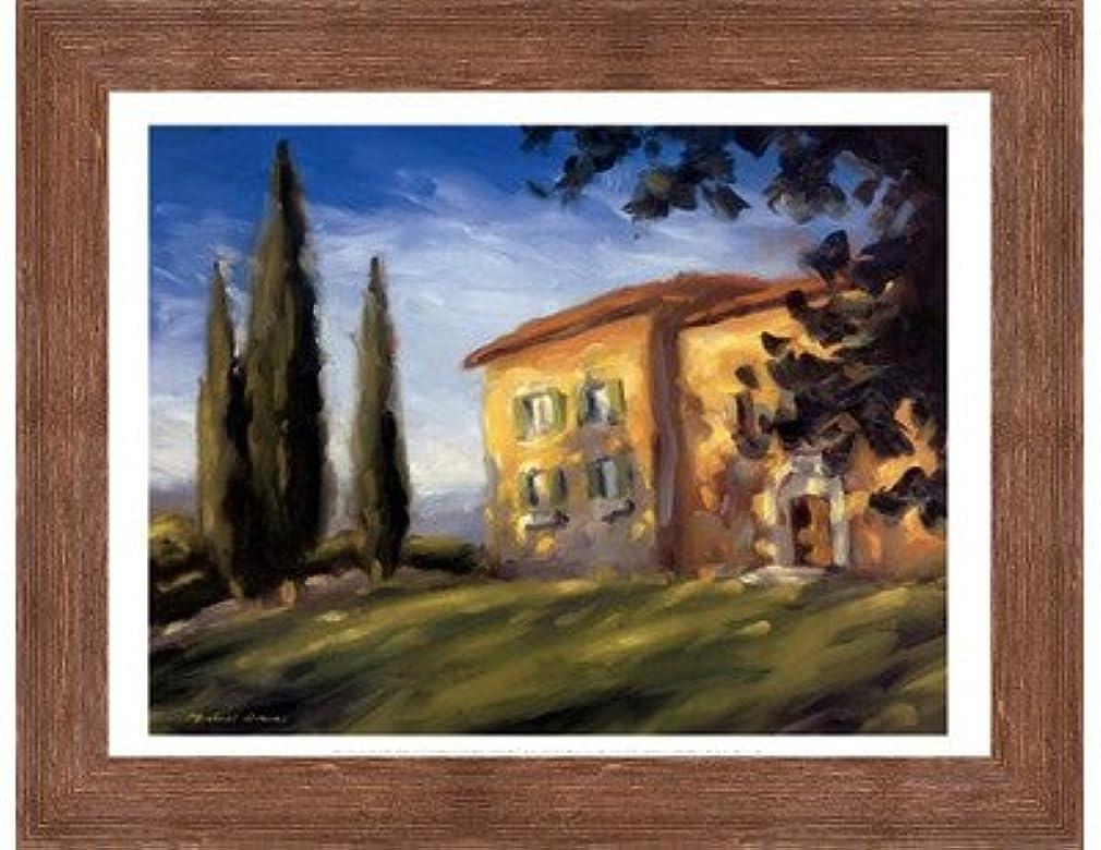 アラバマ節約する関数A Rural Villa by Michael Downs?–?15.75?X 11.75インチ?–?アートプリントポスター LE_56762-F10570-15.75x11.75