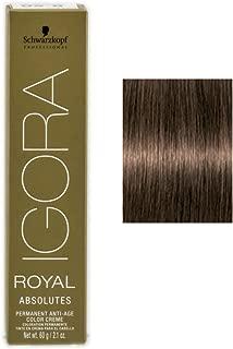 Schwarzkopf Professional Igora Royal Absolutes Hair Color - 5-50 Light Brown Gold Natural
