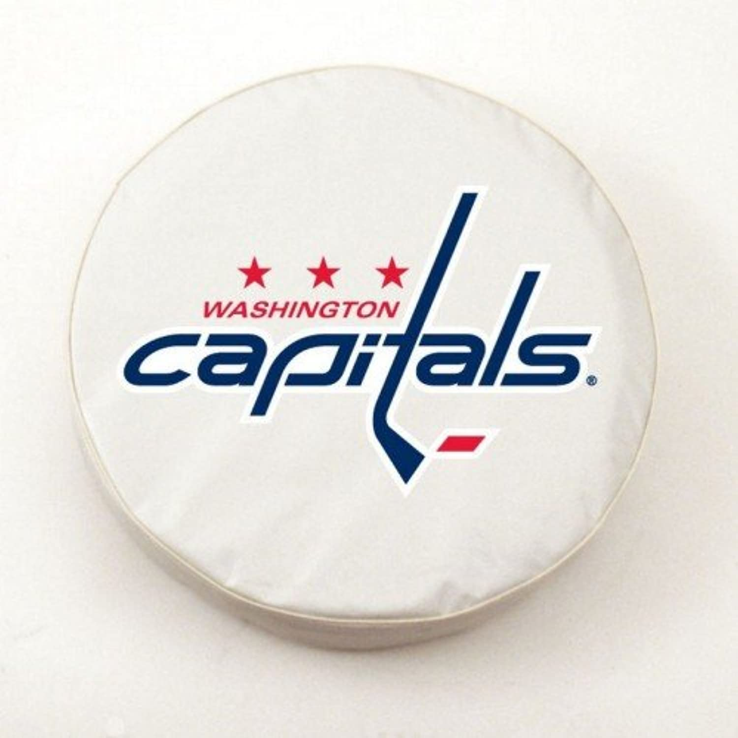 Washington Capitals White Tire Cover, Large