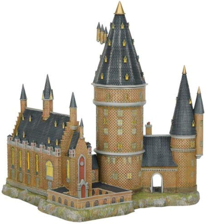 Department56 Harry Potter Village Hogwarts Hall and Tower Lit Building, 13.07 , Multicolor