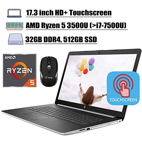 2020 Latest HP 17 Flagship Laptop Computer 17.3' HD+ Touchscreen Display...
