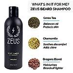 ZEUS Men's Beard Shampoo & Beard Conditioner Set – US MADE – Soften, Hydrates, & Moisturizes, Prevents Itching & Flaking… 3