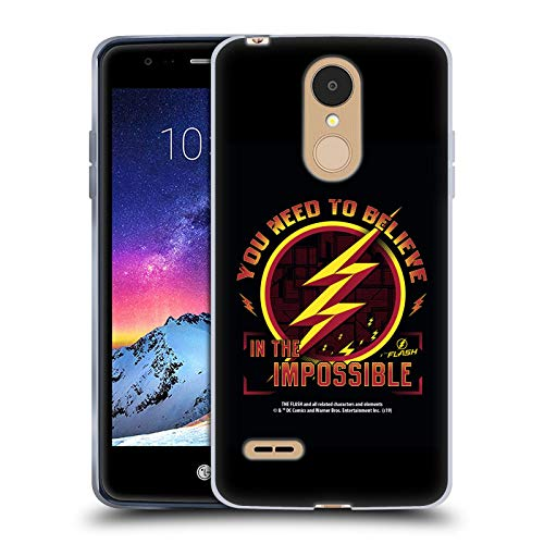 Head Case Designs Offizielle The Flash TV Series Believe Grafiken Soft Gel Huelle kompatibel mit LG K8 / K9 (2018)