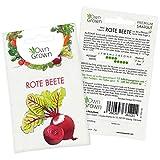 OwnGrown Premium Rote Beete Samen (Beta vulgaris), Rote Rüben Samen zum Anbauen, Rote Bete Saatgut für rund 80 Rote Beete Pflanzen