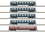 Märklin-Schnellzugwagen-5er-Set Der DB Juego de 5 carros de Tren rápido, Color Azul (87357)