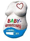 Embarazo – Bebé abdomen 18 piezas impresión de yeso completo Set con 12 colores & paquete de regalo