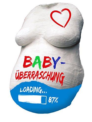 BABYBAUCH Gips Abdruck Set KOMPLETT mit 12 Farben – statt UVP 24,99€, zum Angebotspreis! Babybauch Gipsbauch Gipsbinden Gipsabdruck Schwangerschaft