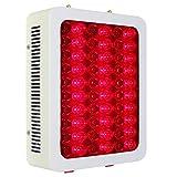 WODT Lámpara de Terapia de luz LED roja de 300 vatios, lámpara roja de 660 NM e infrarrojo cercano, 850 NM para Alivio de la Piel y el Dolor, Rendimiento Muscular antienvejecimiento