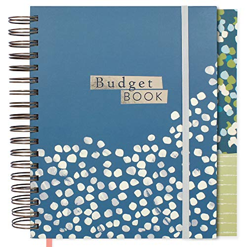 Boxclever Press Large Budget Planner with Pockets. 12 Month Undated Financial Planner & Bill Organizer with Expense Tracker. Budget Book to Start Saving Today & Manage Personal Finance 9.5 x 8 ins