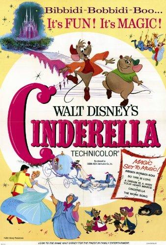 (27x40) Cinderella - Bibbidi-Bobbidi-Boo Movie Poster