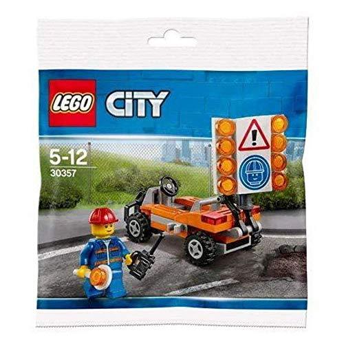 Lego City 30357 Baustellen Absicherung Polybag Neu...