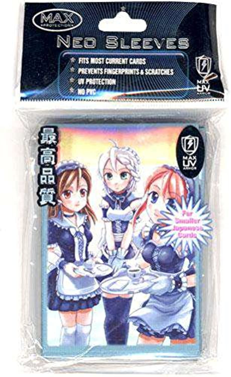 en stock YuGiOh MAX Projoection Projoection Projoection Gaming Coched Sleeves Maids Neo 50 Count by Max Projoection  Web oficial