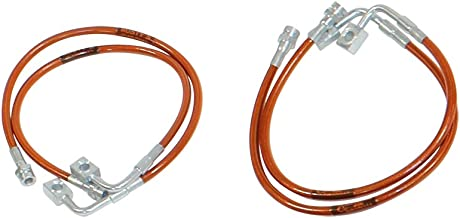Rusty's Off-Road Extended Stainless Steel Brake Line Set - Front and Rear (11-17 JK)