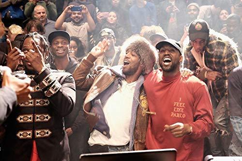 "Kopoo The Life of Pablo Silk Poster Rap Hiphop Super Star Poster, 24"" x 36"" (60 x 91.5 cm)"