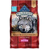 Blue Buffalo Wilderness Rocky Mountain Recipe High Protein Grain Free Natural Adult Small Breed Dry Dog Food, Red Meat 4-lb