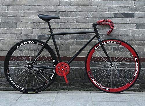 ZTYD Camino de la Bicicleta, Bicicletas 26 Pulgadas, Sistema de Frenos inversa, Marco de Acero al Carbono de Alta, Camino de la Bicicleta de Carreras, Hombres y Mujeres Adultos de,T