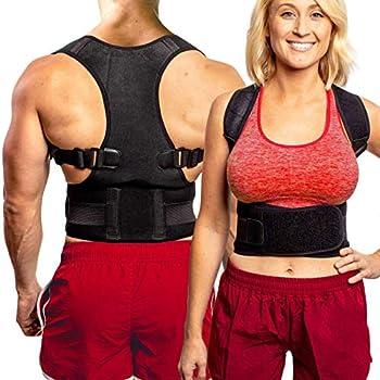FlexGuard Posture Corrector for Women & Men - Back Brace Shoulder & Neck Support –  XL