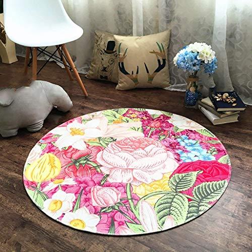 YUJIA1 Huishoudelijk/mode licht/rond tapijt cartoon computer stoel kussen kinderkamer nachtkastje tapijt tapijt tapijt