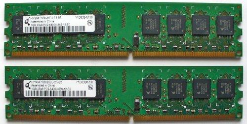 Qimonda HYS64T128020EU - 2, 5-B2 HYS64T128020EU 1 GB DDR2 RAM PC2-6400 800...