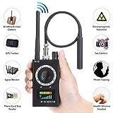 HOHOPROV Anti-Spy Detector,Hidden Camera Detector Camera Finder Wireless Bug Laser Lens GPS Signal Tracker RF Signal Detector