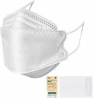 [Amazon限定ブランド]KF94マスク 在庫あり 個別包装 10枚入 4層構造 超快適 立体構造 呼吸しやすい 口紅が付きにくい 飛沫防止 黄砂 粉塵 花粉 風邪予防 男女兼用 お出かけ安心