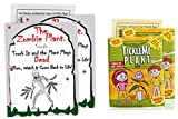 TickleMe Plant Seed Packets (2) with Zombie Plant Seed Packets (2)