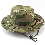 Boonie Hat,Sombrero de Cubo Protección Solar CP Camuflaje Cubo Sombrero para la Pesca Al Aire Libre Camping Ciclismo Caza Golf Senderismo Hombres y Mujeres