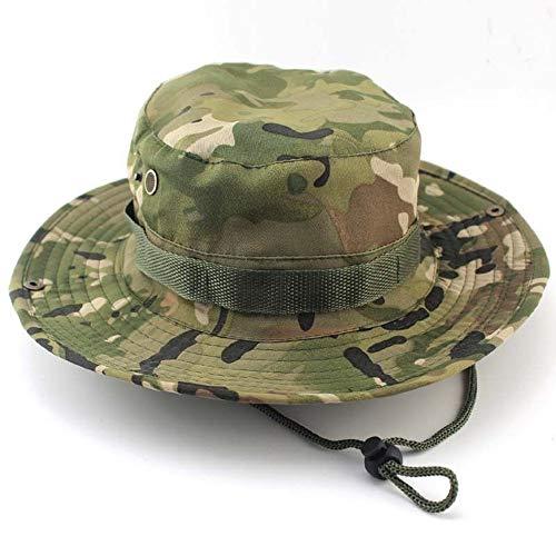 Yongbest Cappello Pescatore,Cappello per Il Sole Outdoor Cappello Alpinismo CP Cappello Mimetico Boonie Hat per Pesca All'aperto Campeggio Ciclismo Caccia Golf Escursionismo Uomini e Donne