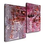 Sinus Art Abstrakte Kunst 120x80cm 2 Kunstdrucke je 70x60cm