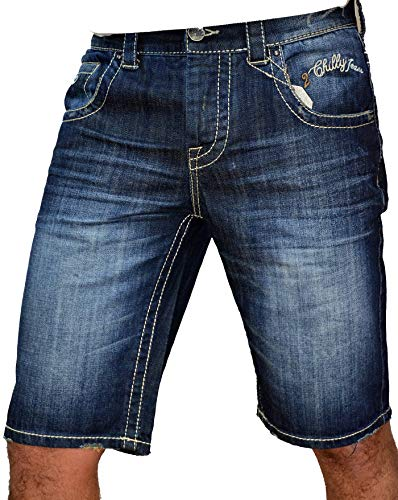 2Chilly Jeans Short Bermuda Chino Skyrider Bermuda David Capri Denim Wow Camp Finale Sale Uitverkoop