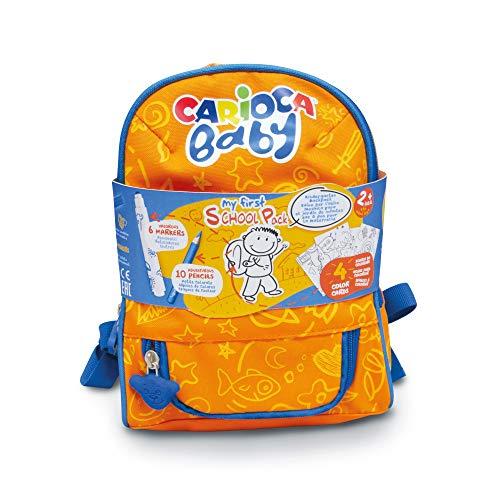 Carioca Mochila Baby | Mochila Impermeable para la Guardería con Material Escolar...