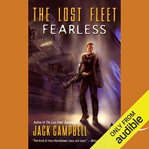 The Lost Fleet: Fearless audiobook cover art